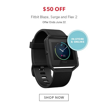 shop Fitbit now - offer ends June 22, 2017.