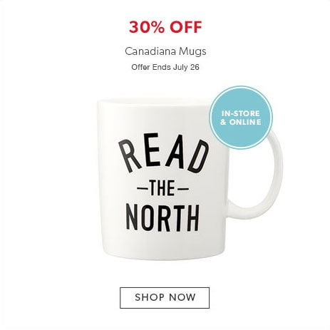 Shop mugs now - Offer ends June 26, 2017