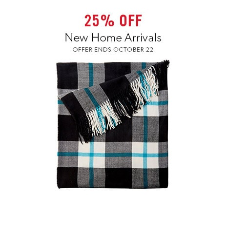 shop new in home now - offer ends October 22, 2017