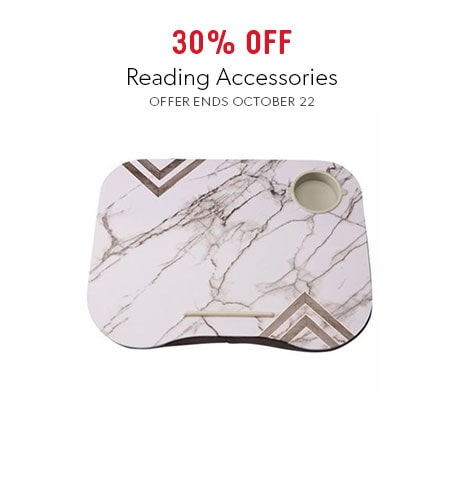 shop reading accessories now. Offer ends October 22, 2017