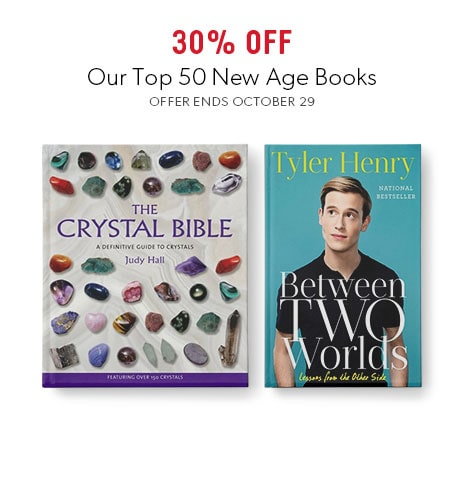 shop top new age books now - offer ends October 29, 2017