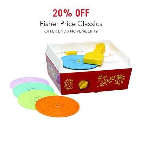 Shop Fisher Price Classics now - offer ends November 19, 2017