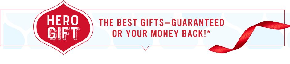 Hero Gifts! The best gift guaranteed!