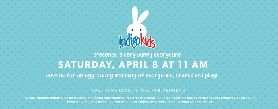 a very bunny storytime: saturday, April 8 at 11 AM