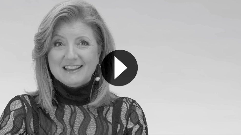Play a video of Arianna Huffington speaking.
