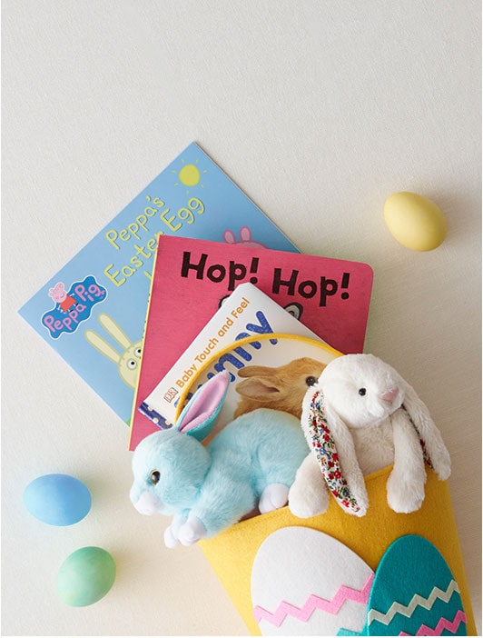 Build a Basket - Put all their Easter gifts in one adorable basket