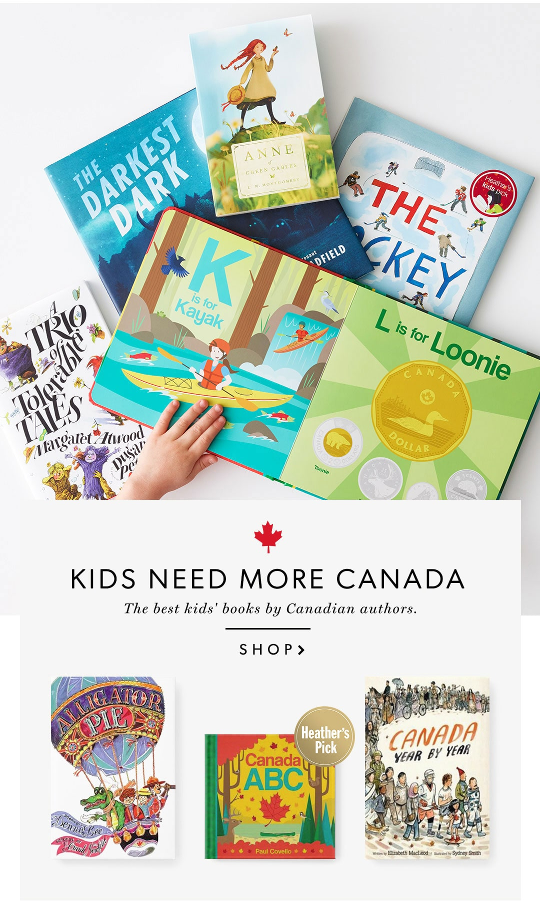 Kids need more Canada