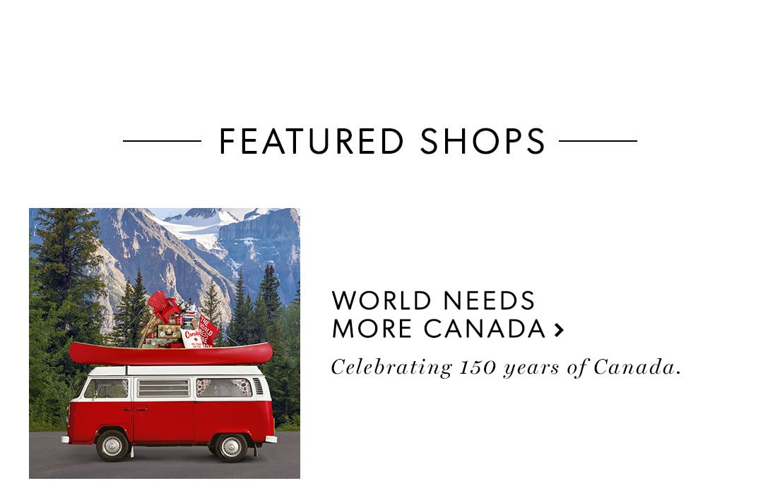 featured shop: The World Needs More Canada