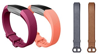 Fitbit Alta HR bands in several styles