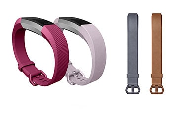Fitbit Alta bands in several colours
