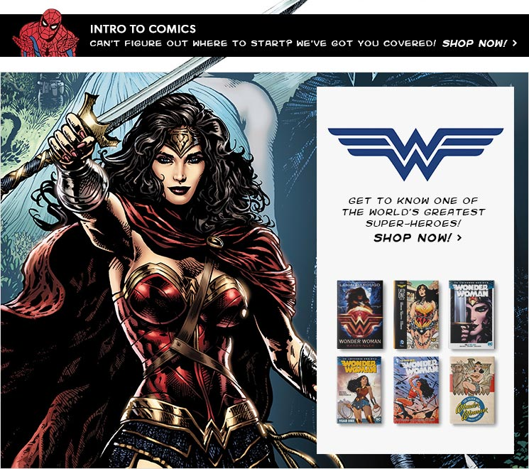shop Wonder Woman