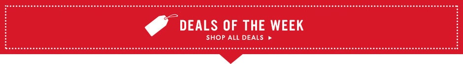 Shop our best deals of the week - online only