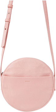 Pink circular matt & Nat purse.