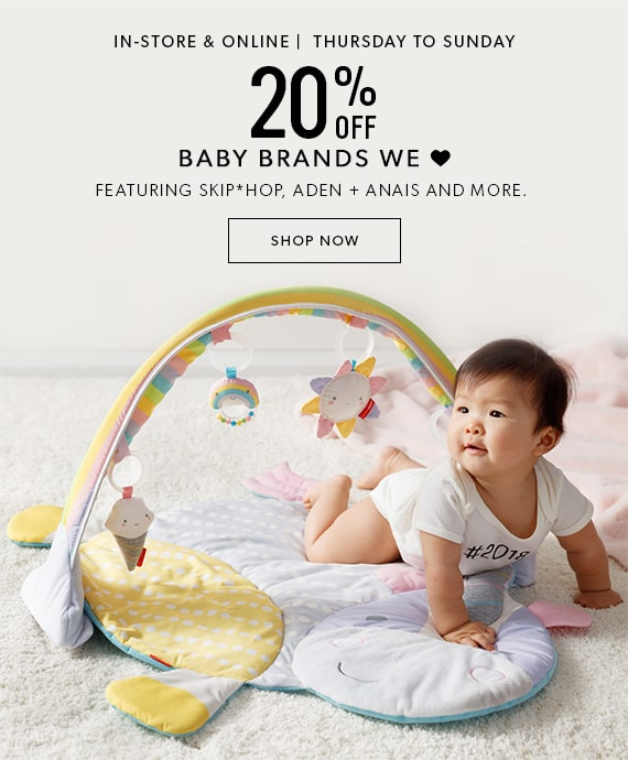 20% Off Baby Brands We Love
