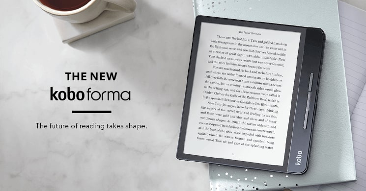 Shop The New Kobo Forma | The future of reading takes shape.