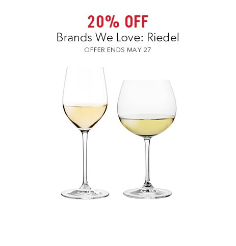 shop Riedel now - offer ends May 27, 2018