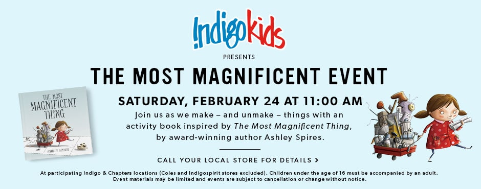 IndigoKids presents the Most Magnificent Event: Saturday, February 24 at 11AM