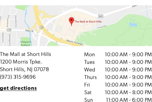 Indigo Short Hills - get directions and store hours