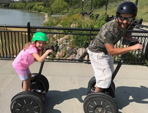Kid-Friendly - 1 Kids Segway Lesson & Obstacle Course from River Valley Adventures - Edmonton