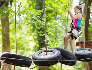 Kid-Friendly - 1 General Pass to Classic Adventure Course - Victoria
