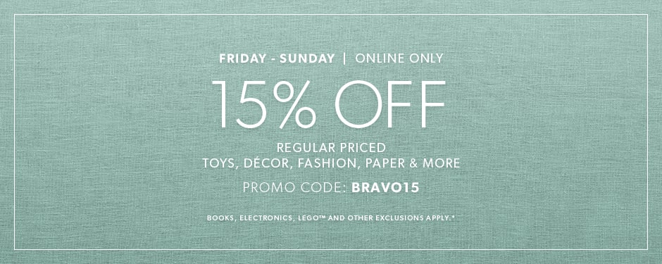 15 Off Weekends Online Only Chapters Indigo Ca
