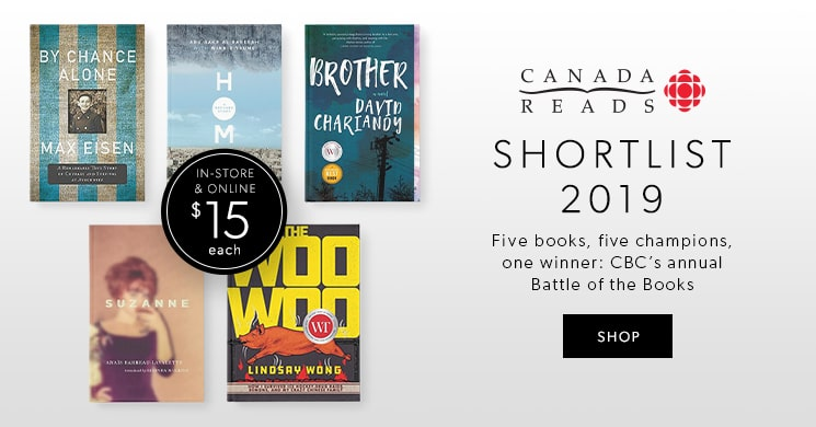 CBC'S CANADA READS 2019 SHORTLIST