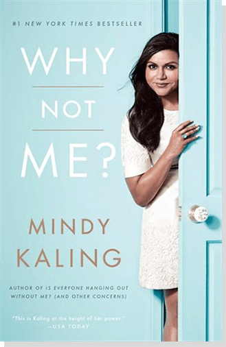 A photo of non-fiction book Why Not Me? by Mindy Kaling