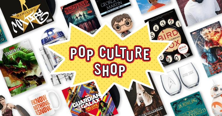 The Pop Culture Shop at Indigo.ca is the perfect one-stop shop for all your pop-of-culture needs!