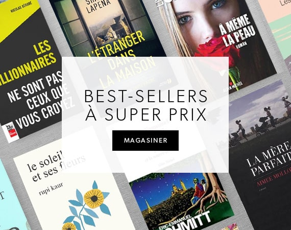 Best sellers à super prix