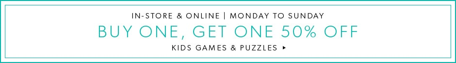Buy One Get One Kids Games & Puzzles