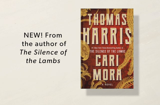 New From Thomas Harris, the author of The Silence of the Lambs