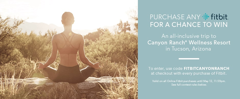 Fitbit Canyon Ranch Contest | chapters indigo ca