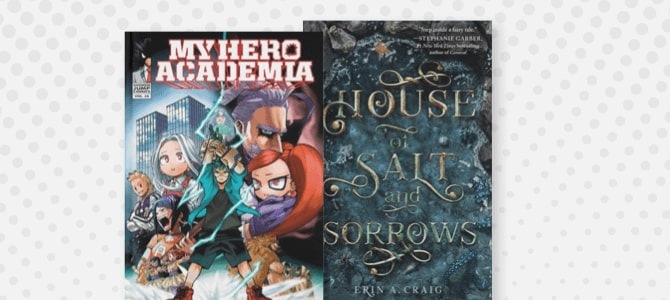 Top 10 Teen Books for August