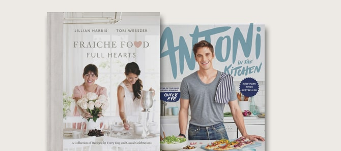 Shop Celebrity Cookbooks at Indigo