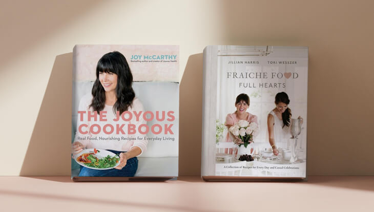 Shop Healthy Eating Cookbooks