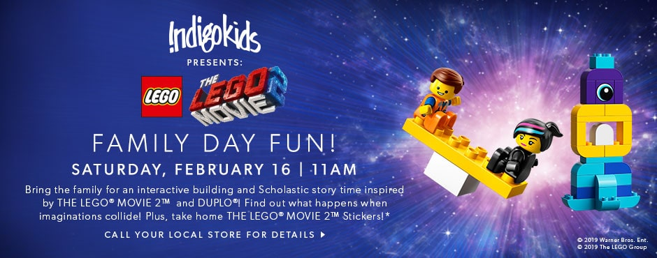IndigoKids presents Family Day Fun: Saturday, February 16 at 11AM