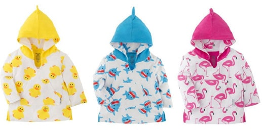 IKERE Limited is recalling ZOOCCHINI UPF50+ Baby Coverups sold and distributed in Canada by Kidcentral Supply