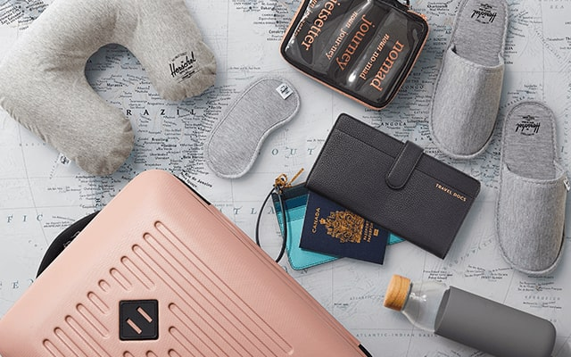 Travel Essentials | Find next-level travel necessities and check off your packing list. | Shop