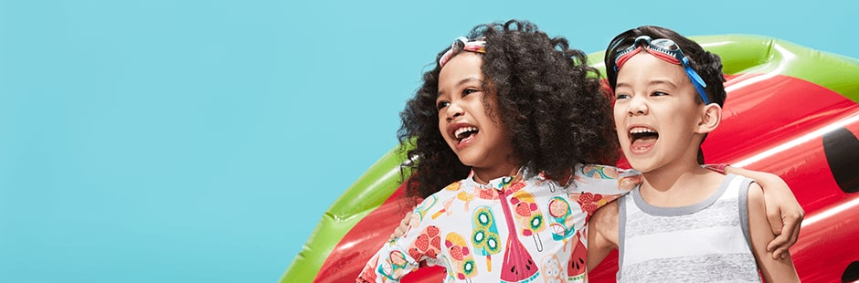 Get them ready for the awesomest Summer ever! The kids summer shop!