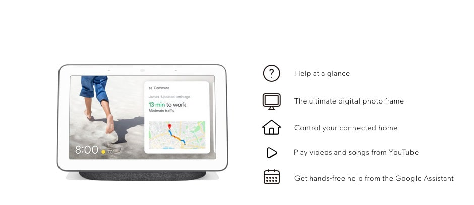 Shop Google Nest Hub now. Get hands-free help from the Google Assistant plus discover all the other compatible devices.