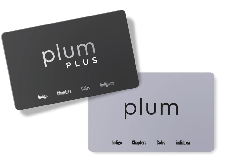 plum PLUS and plum rewards membership cards