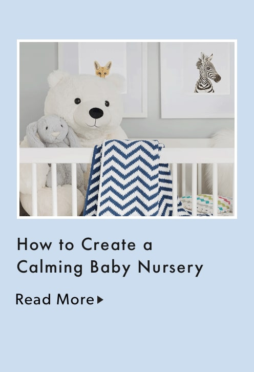 How to create a calming baby nursery.
