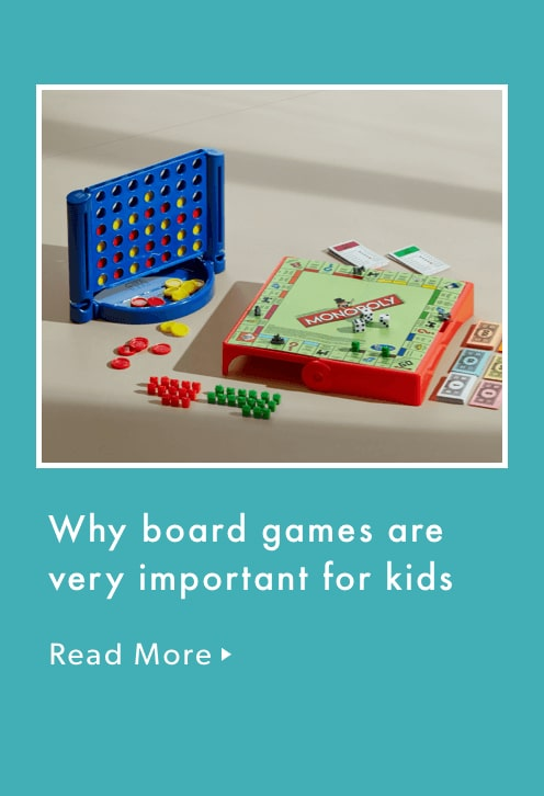 Why board games are very important for kids.