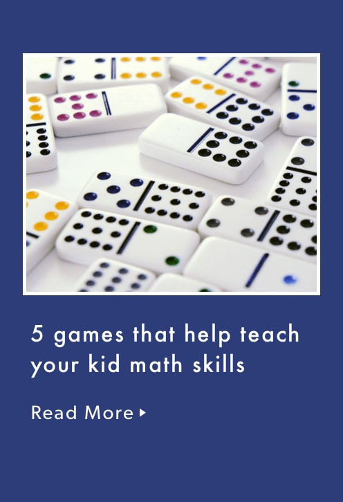 5 games that help teach your kid math skills.