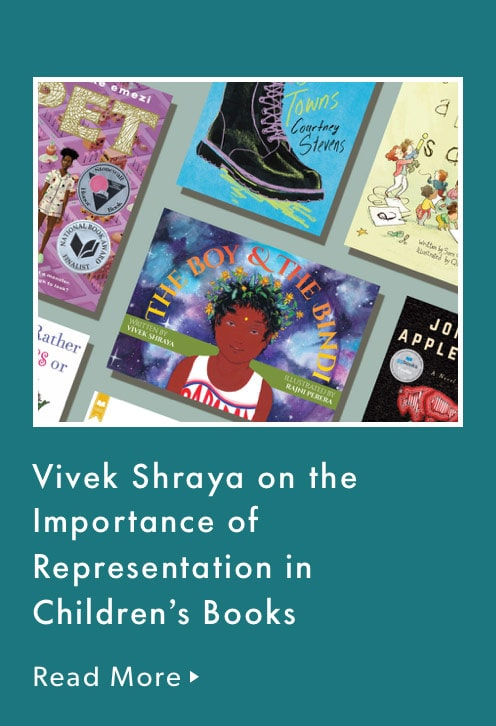 Vivek Shraya on the important of representation in children's books.