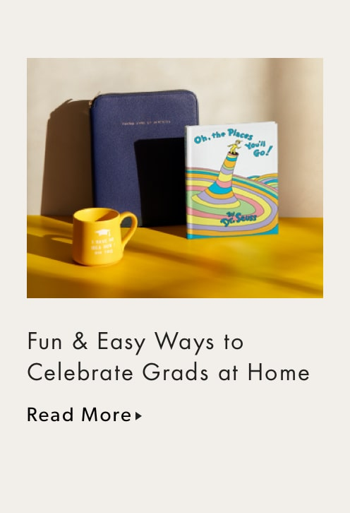 Fun & Easy Ways to Celebrate Grads at Home