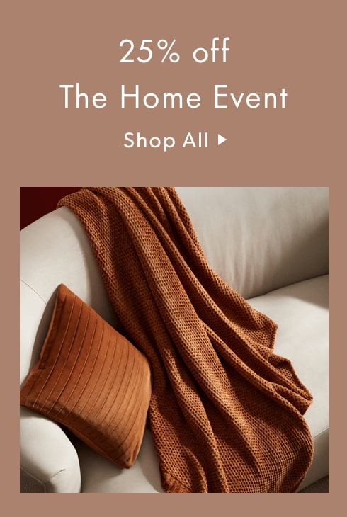 25% off The Home Event