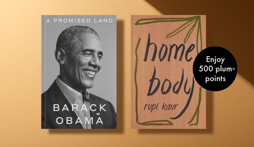 Pre-order any of our Most Anticipated Books of 2020 and enjoy an additional bonus 500 plum® points on each book!