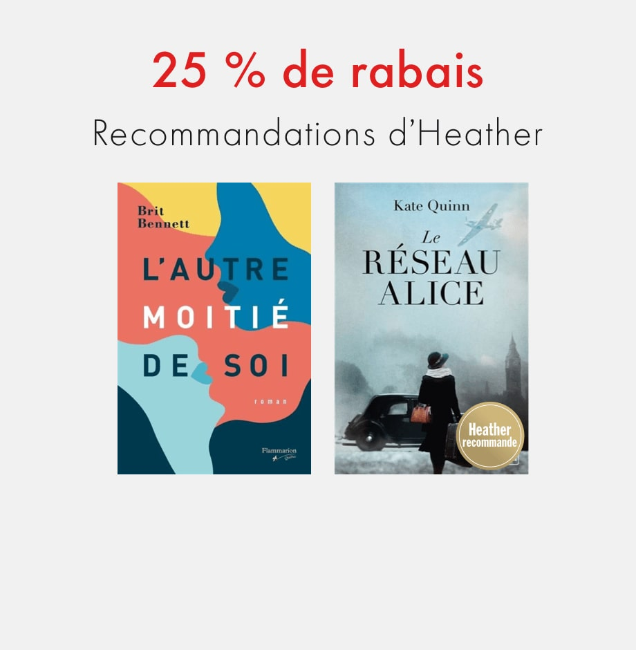 25 % de rabais : Recommandations d'Heather