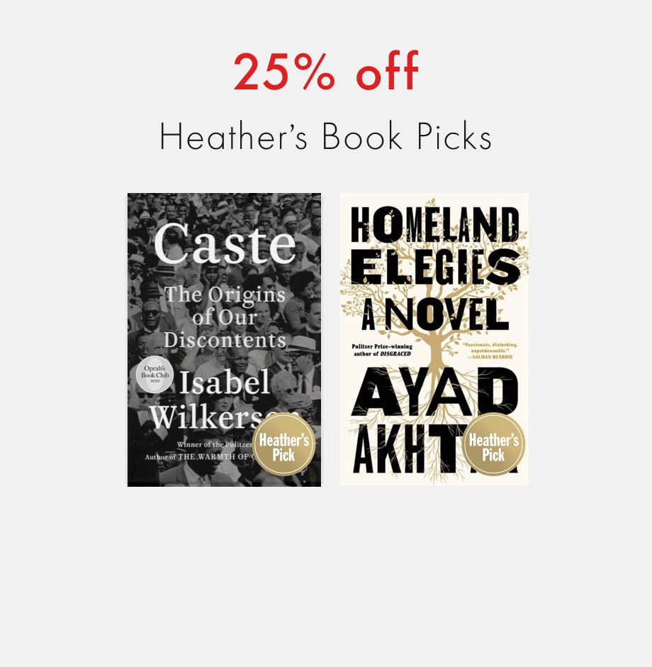 Early Access Black Friday 2020: 25% off Heather's Book Picks